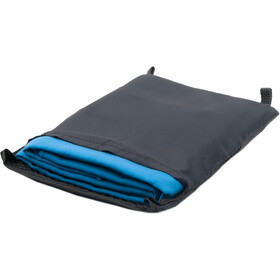 Basic Nature Velour Toalla 60x120cm, blue